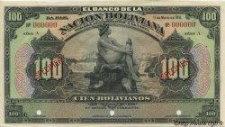 100 Bolivianos BOLIVIE  1929 P.117s pr.NEUF