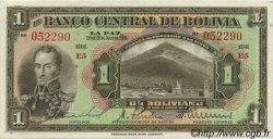 1 Boliviano BOLIVIE  1928 P.118a SPL