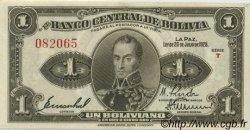 1 Boliviano BOLIVIE  1928 P.119a pr.SPL