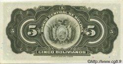 5 Bolivianos BOLIVIE  1928 P.120a NEUF