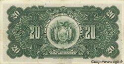 20 Bolivianos BOLIVIE  1928 P.122a SUP à SPL