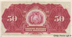 50 Bolivianos BOLIVIE  1928 P.123 SPL