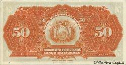 50 Bolivianos BOLIVIE  1928 P.124 SPL