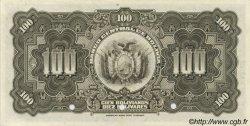 100 Bolivianos BOLIVIE  1928 P.125s NEUF