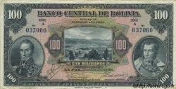 100 Bolivianos BOLIVIE  1928 P.125 TTB