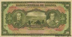 500 Bolivianos BOLIVIE  1928 P.126a TB+