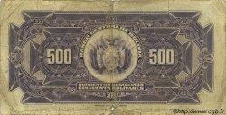 500 Bolivianos BOLIVIE  1928 P.126b B