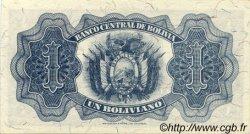 1 Boliviano BOLIVIE  1928 P.128a SPL