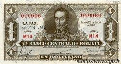 1 Boliviano BOLIVIE  1928 P.128b NEUF