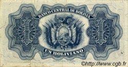 1 Boliviano BOLIVIE  1928 P.128c SUP