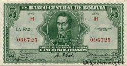 5 Bolivianos BOLIVIE  1928 P.129 NEUF