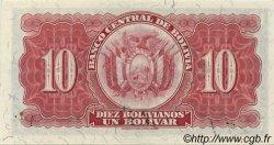 10 Bolivianos BOLIVIE  1928 P.130 pr.NEUF