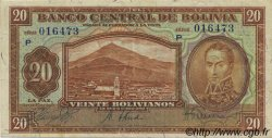 20 Bolivianos BOLIVIE  1928 P.131 SUP