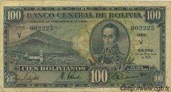 100 Bolivianos BOLIVIE  1928 P.133 TTB
