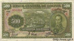 500 Bolivianos BOLIVIE  1928 P.134 SUP+