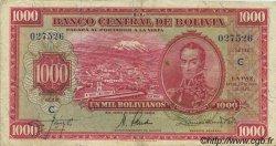 1000 Bolivianos BOLIVIE  1928 P.135 TTB+