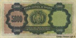 5000 Bolivianos BOLIVIE  1942 P.136 TTB