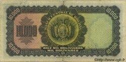 10000 Bolivianos BOLIVIE  1942 P.137 TB+