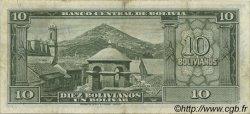 10 Bolivianos BOLIVIE  1945 P.139a TTB+