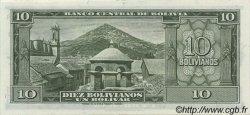 10 Bolivianos BOLIVIE  1945 P.139a SPL