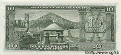 10 Bolivianos BOLIVIE  1945 P.139c NEUF