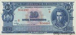 10 Bolivianos BOLIVIE  1945 P.139d pr.NEUF