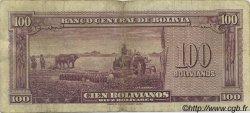 100 Bolivianos BOLIVIE  1945 P.142 pr.TB