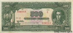 500 Bolivianos BOLIVIE  1945 P.143 pr.SPL