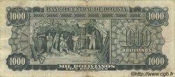1000 Bolivianos BOLIVIE  1945 P.144 TB