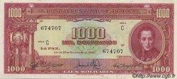 1000 Bolivianos BOLIVIE  1945 P.144 SPL