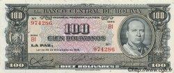 100 Bolivianos BOLIVIE  1945 P.147 SPL
