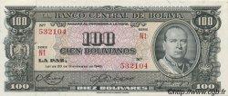 100 Bolivianos BOLIVIE  1945 P.147 NEUF