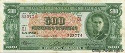 500 Bolivianos BOLIVIE  1945 P.148 SUP