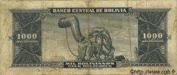 1000 Bolivianos BOLIVIE  1945 P.149 TB