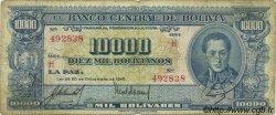 10000 Bolivianos BOLIVIE  1945 P.151 B+