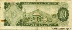 10 Pesos Bolivianos BOLIVIE  1962 P.154a TTB