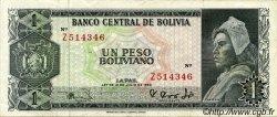 1 Peso Boliviano BOLIVIE  1962 P.158a TTB+