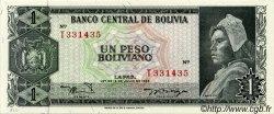 1 Peso Boliviano BOLIVIE  1962 P.158a SPL+