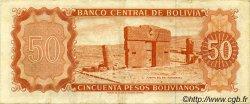 50 Pesos Bolivianos BOLIVIE  1962 P.162a TTB