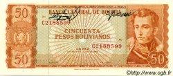 50 Pesos Bolivianos BOLIVIE  1962 P.162bx NEUF
