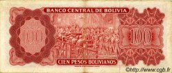 100 Pesos Bolivianos BOLIVIE  1962 P.164A TTB