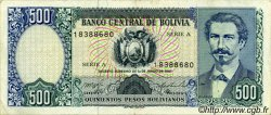 500 Pesos Bolivianos BOLIVIE  1981 P.165a TTB+