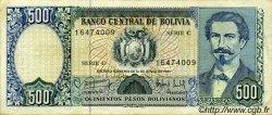 500 Pesos Bolivianos BOLIVIE  1981 P.166a TTB