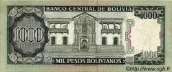 1000 Pesos Bolivianos BOLIVIE  1982 P.167a TTB+