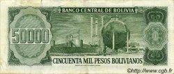 50000 Pesos Bolivianos BOLIVIE  1984 P.170a TTB