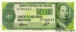 50000 Pesos Bolivianos BOLIVIE  1984 P.170a NEUF