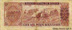 100000 Pesos Bolivianos BOLIVIE  1984 P.171a TB+