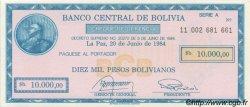 10000 Pesos Bolivianos BOLIVIE  1984 P.186 NEUF
