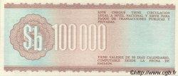 100000 Pesos Bolivianos BOLIVIE  1984 P.188 SPL