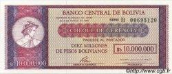 10000000 Pesos Bolivianos BOLIVIE  1985 P.192B NEUF